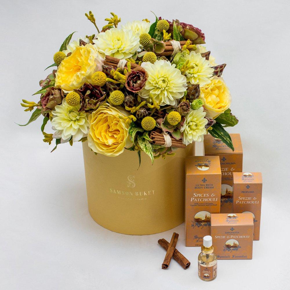 Магия флорентийских специй: букеты цветов на заказ FlowWow
