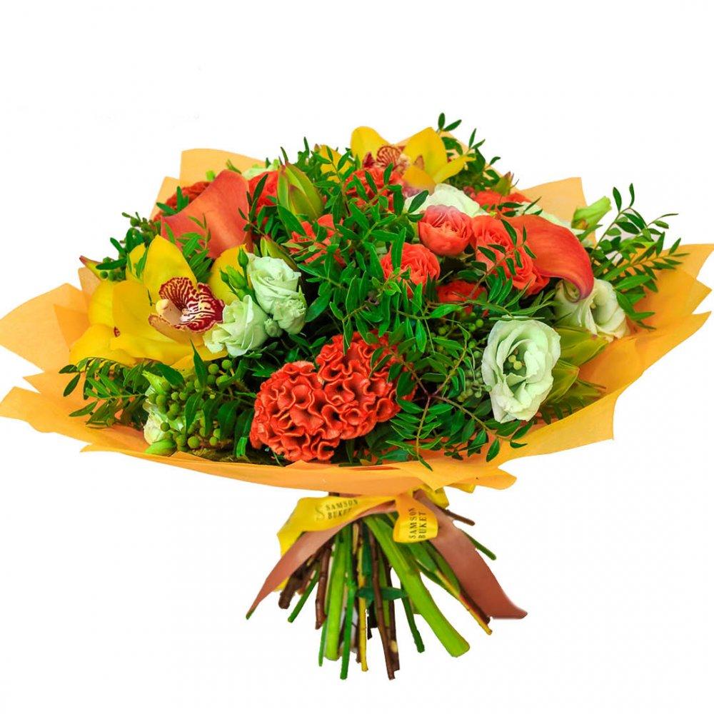 Галантная осень: букеты цветов на заказ FlowWow