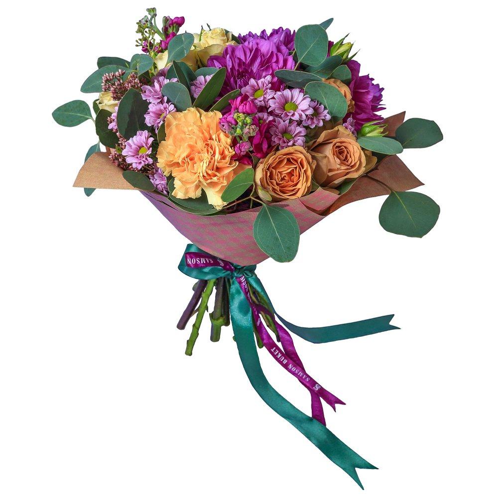 Экзамен: букеты цветов на заказ FlowWow