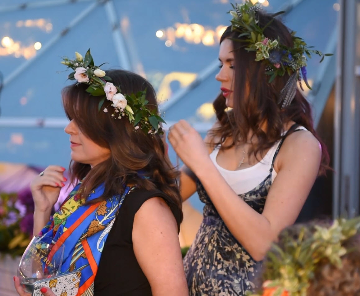 Бохо вечеринка на террасе отеля РИТЦ Карлтон Москва