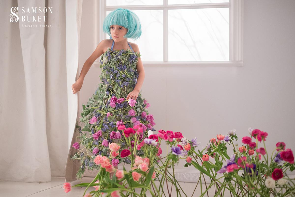 Волшебный мир цветов в новом календаре 2017 года от «Самсон Букет»